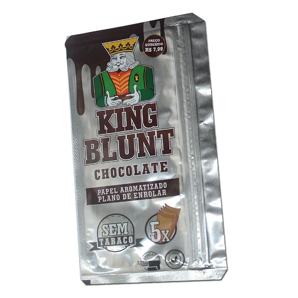 King Blunt - Chocolate (com 5 Blunts)
