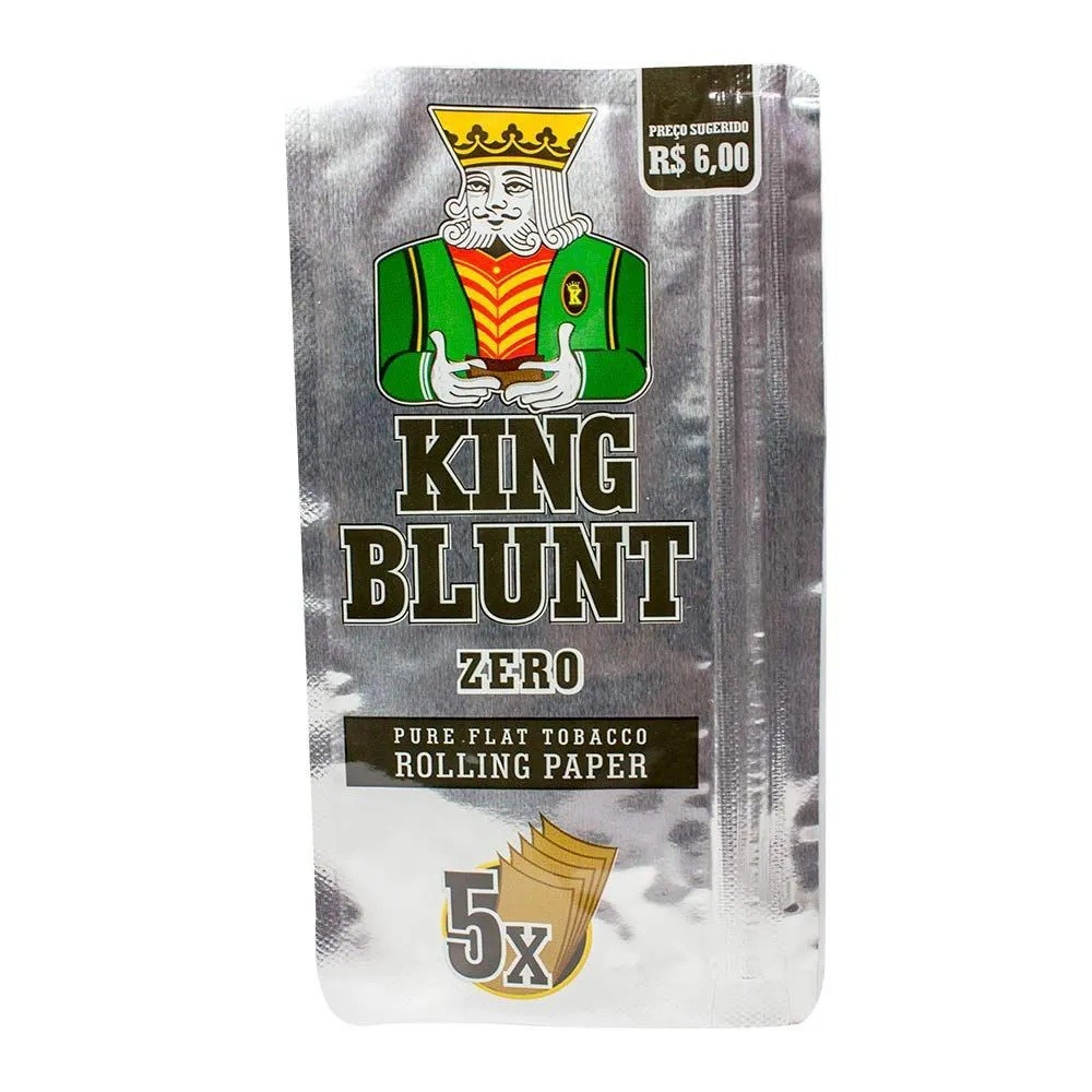 King Blunt - Zero (com 5 Blunts)