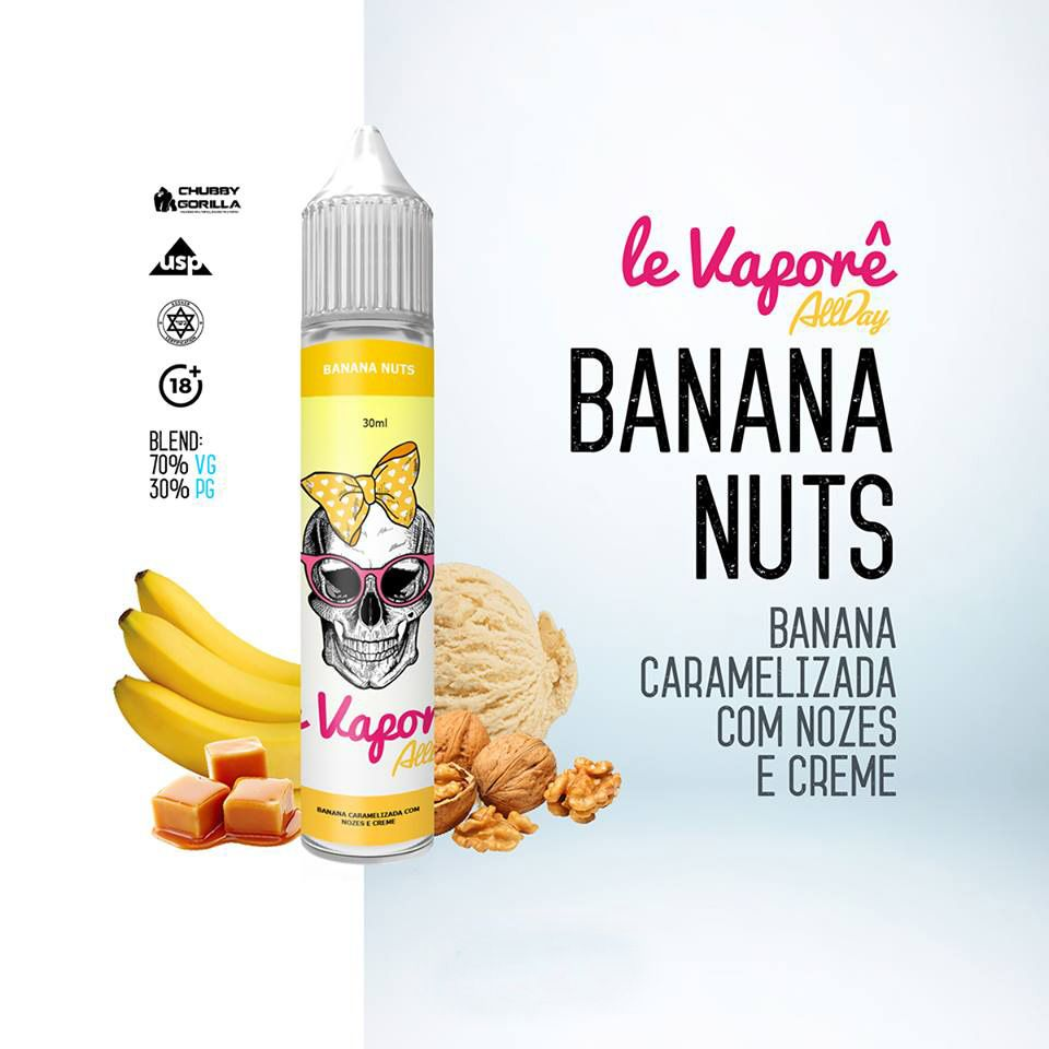 Le Vaporê - Banana Nuts  30 ml