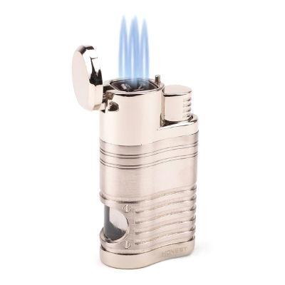 Maçarico Honest Recarregavel 4 chamas com furador BCZ345