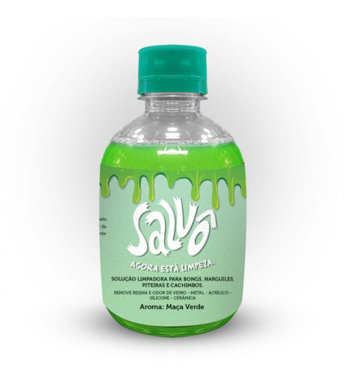 Mini Líquido para Limpeza de Bong Salvô Ultra420 - Maça Verde