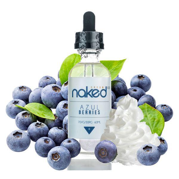 Naked 100 Juice - Azul Berries 60 ml