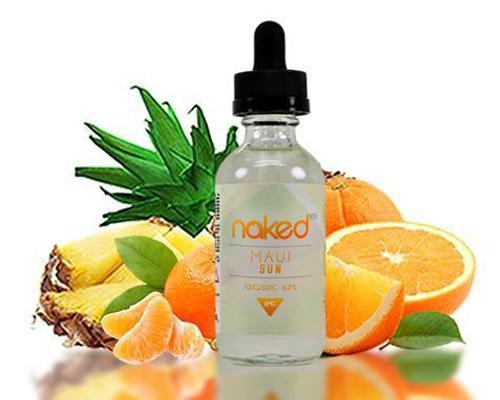 Naked 100 Juice - Maui Sun 60 ml