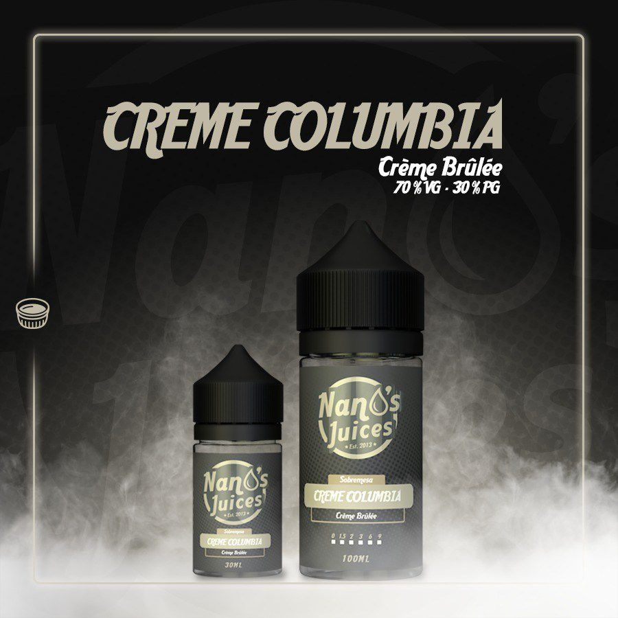 Nano's Juices - Creme Columbia 30 ml