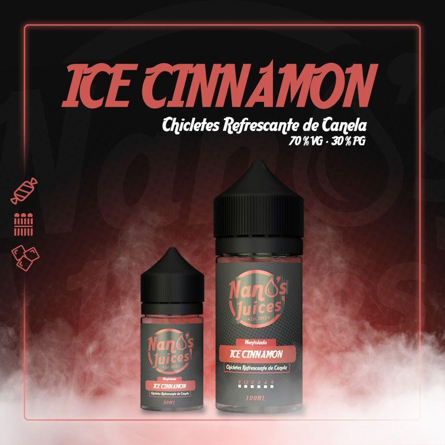 Nano's Juices - Ice Cinnamon 30 ml
