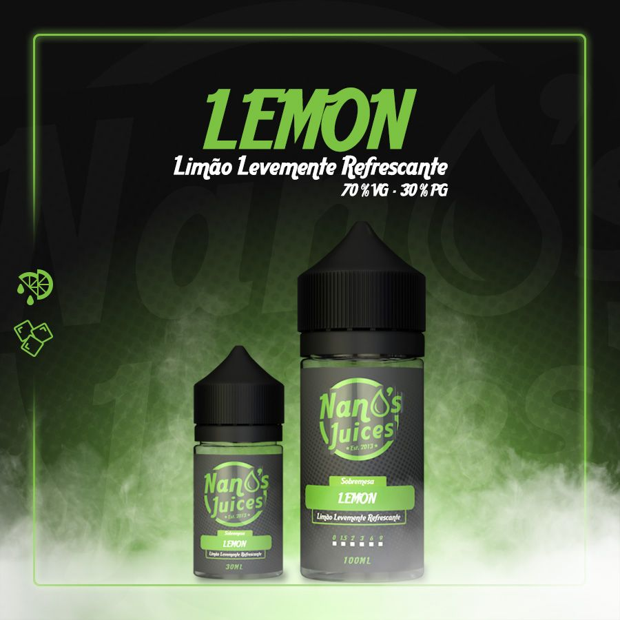 Nano's Juices - Lemon 30 ml