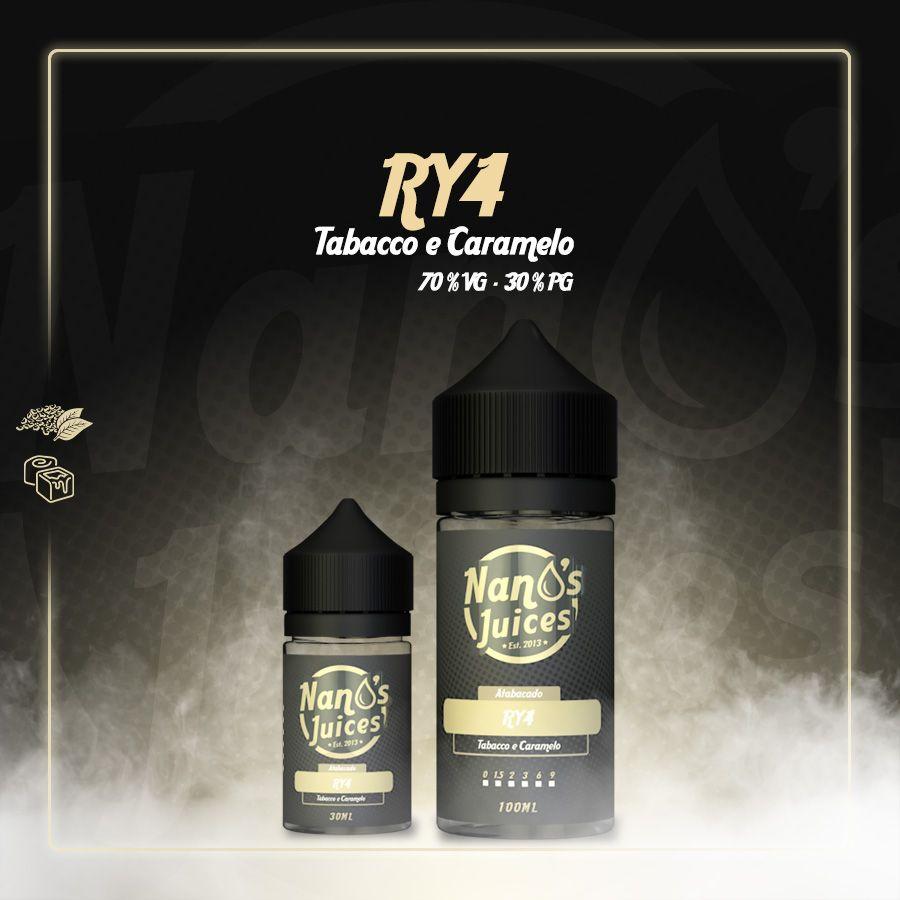 Nano's Juices - Ry4 30 ml