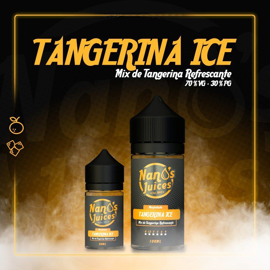Nano's Juices - Tangerina Ice 30 ml