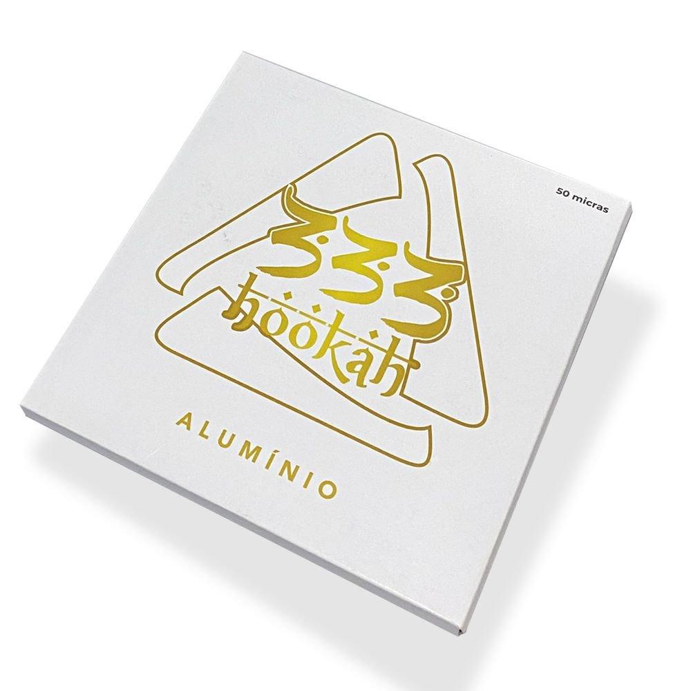 Papel Alumínio - 333 Hookah 50 folhas