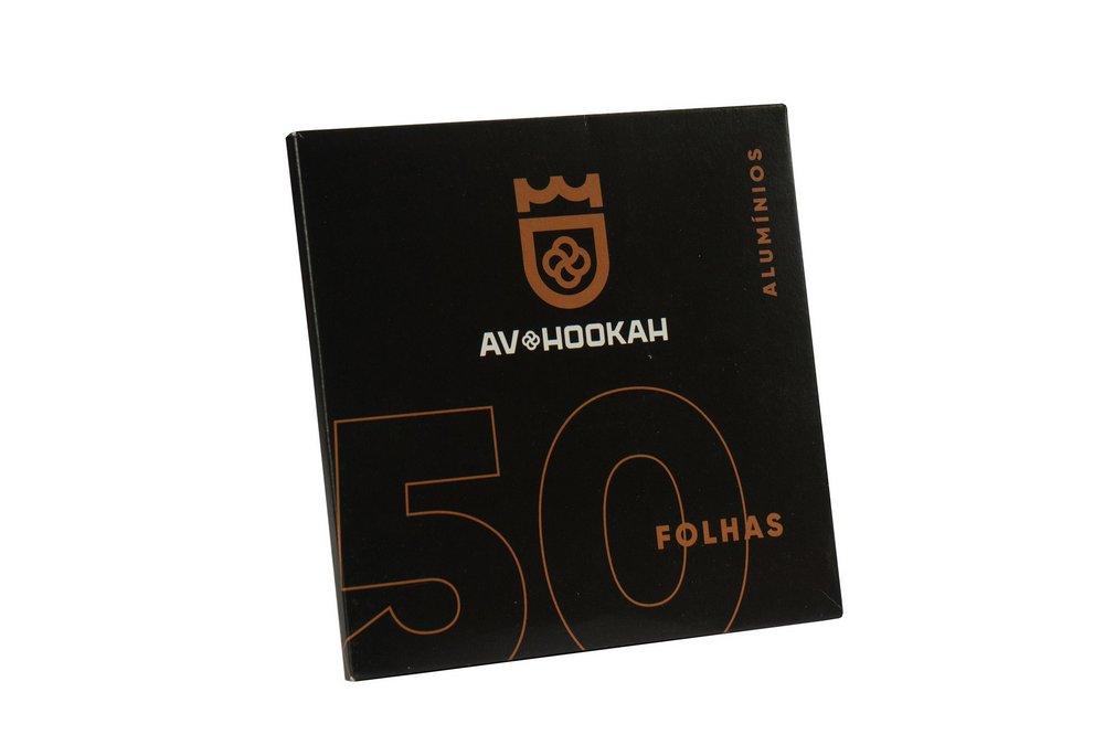 Papel Alumínio - AV Hookah 50 folhas