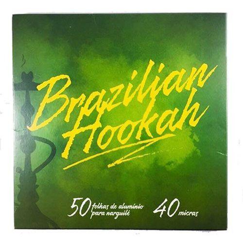 Papel Alumínio - Brazilian Hookah 50 Folhas