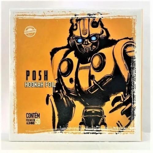 Papel Alumínio - Posh Hookah 50 folhas