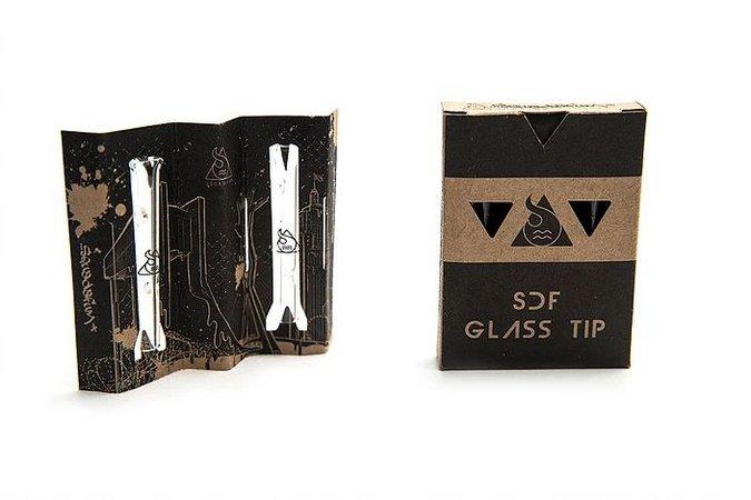 Piteira Glass Squadafum (2 unidades)