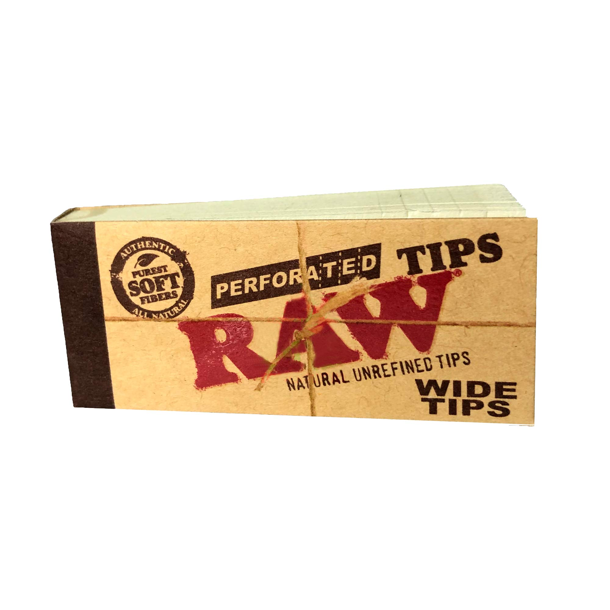 Piteira para Enrolar Raw Perforated Wide Tips