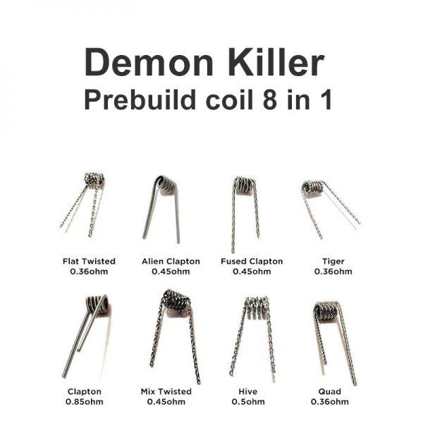 Resistência Demon Killer kit 8 in 1