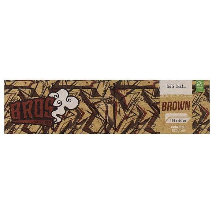 Seda Bros Premium - Brown com 33 Folhas e 33 Tips