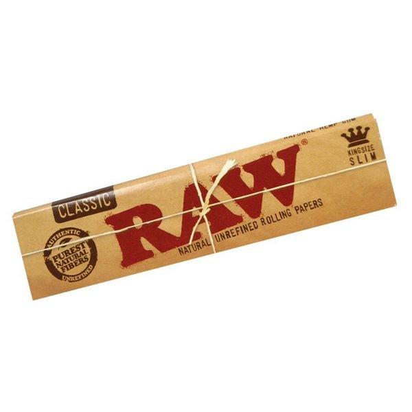 Seda Raw Classic - King Size Slim 32 Folhas