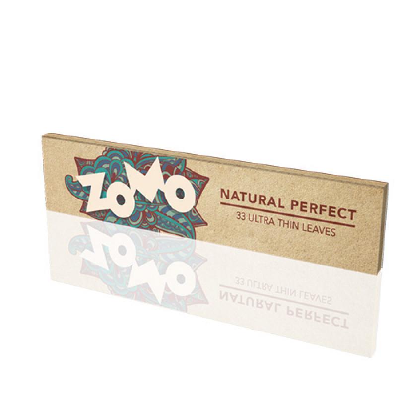 Seda Zomo Natural Perfect - King Size 33 folhas