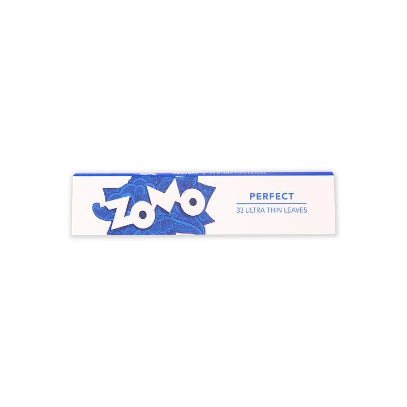 Seda Zomo Perfect - Azul King Size 33 folhas