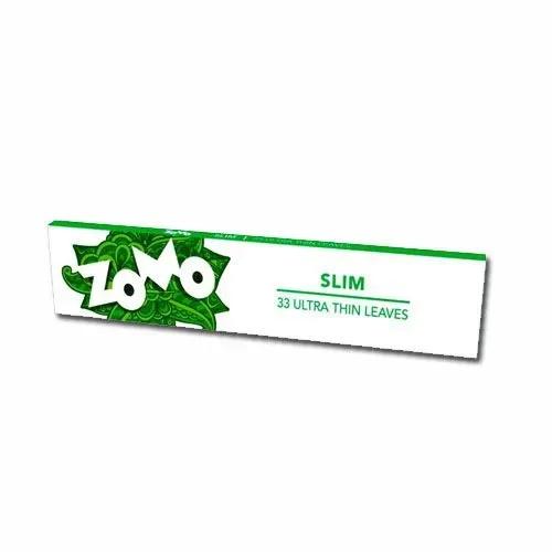 Seda Zomo Slim - Verde King Size 33 folhas