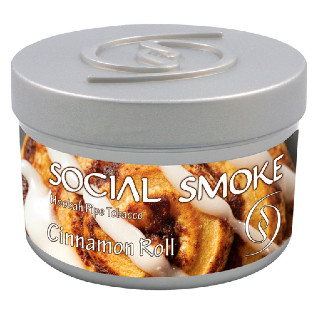 Social Smoke - Cinnamon Roll 100g