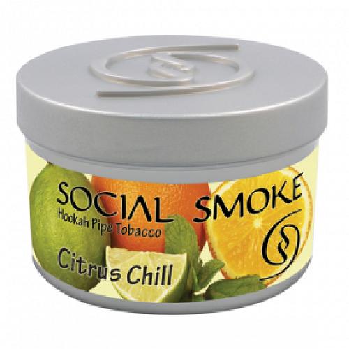 Social Smoke - Citrus Chill 100g