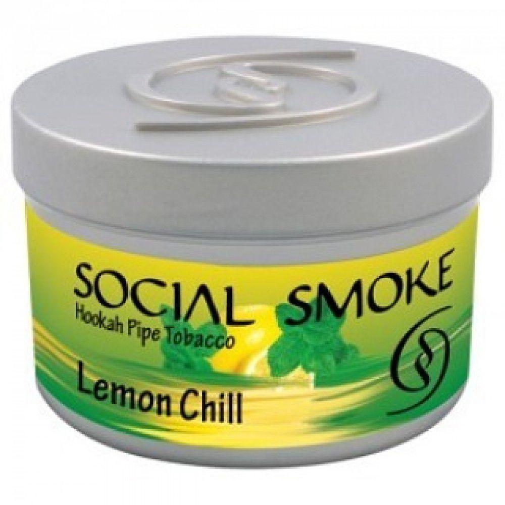 Social Smoke - Lemon Chill 100g