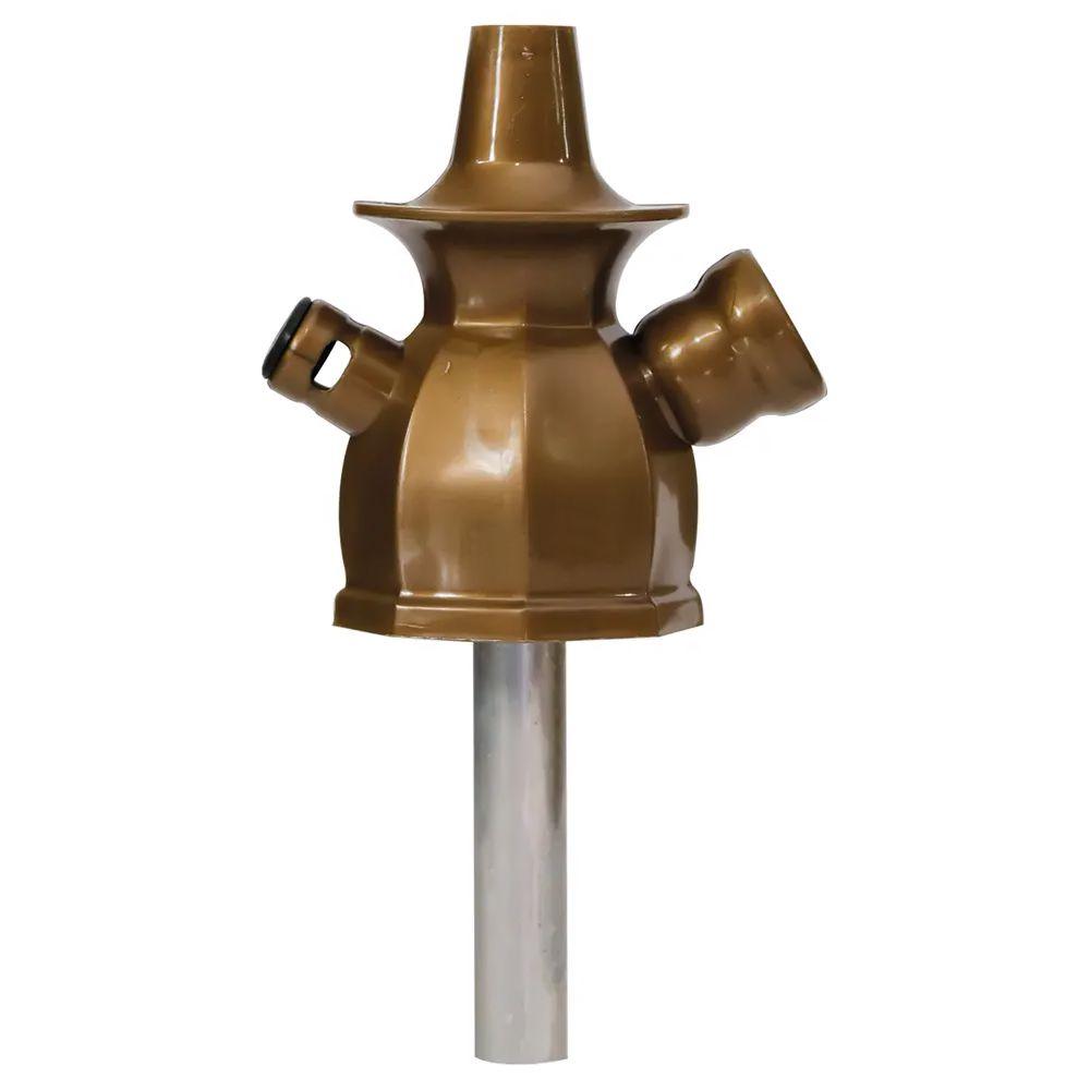 Stem Narguile Ahalaloud Concept 10cm - Dourado