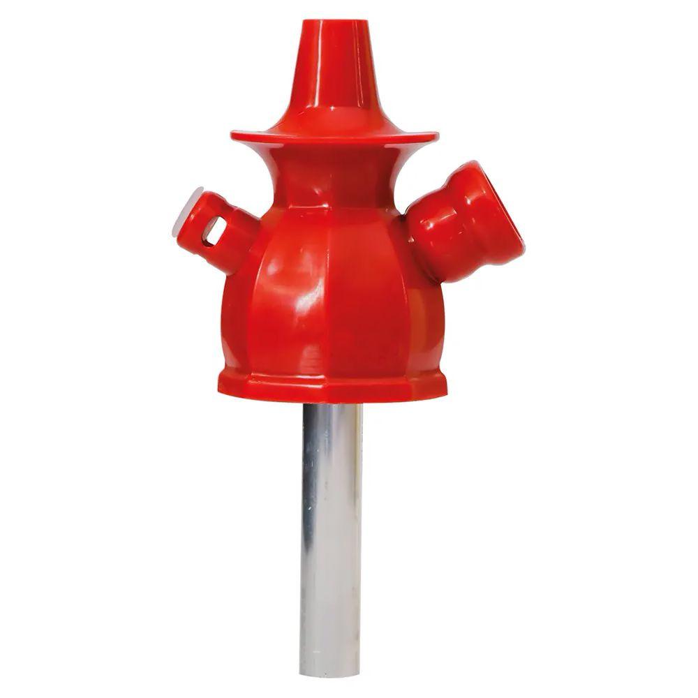 Stem Narguile Ahalaloud Concept 10cm - Vermelho