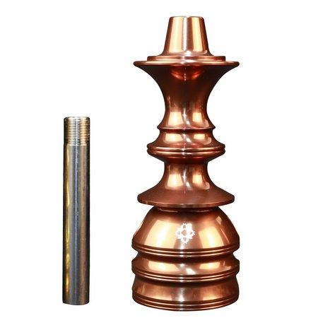 Stem Narguile Pequeno Amazon Kombat - Bronze