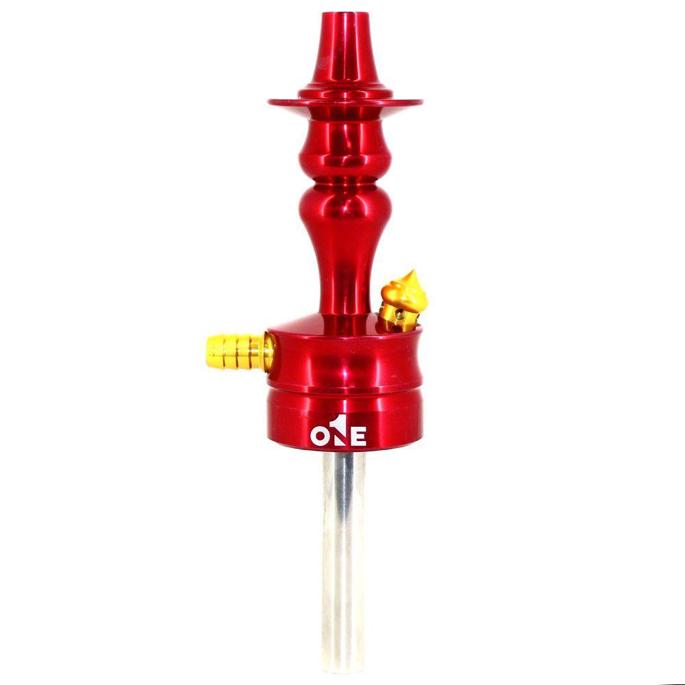 Stem Narguile Pequeno El Nefos - Vermelho