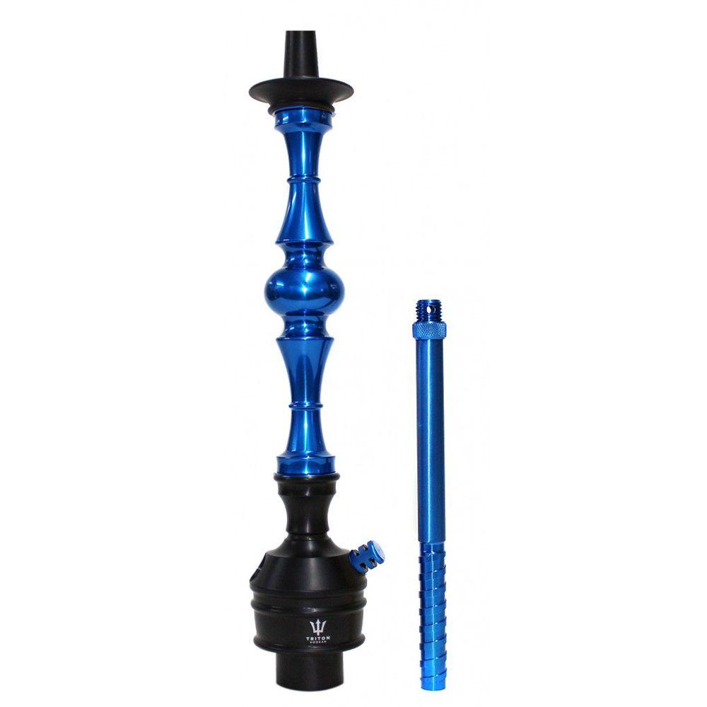 Stem Narguile Triton Up - Azul e Preto