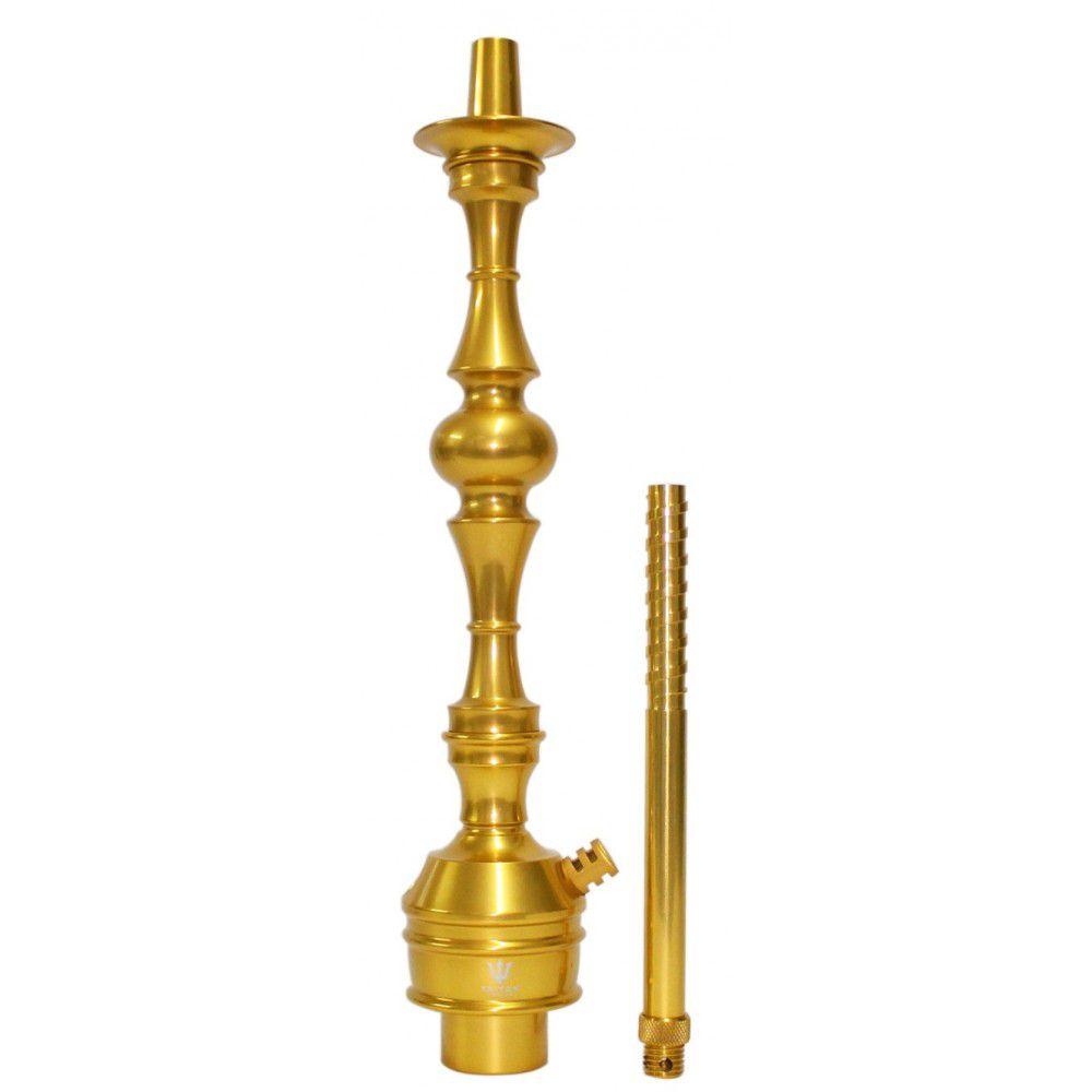Stem Narguile Triton Up - Dourado com Preto