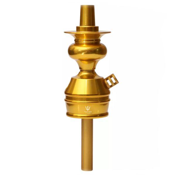 Stem Narguile Triton Zip - Dourado
