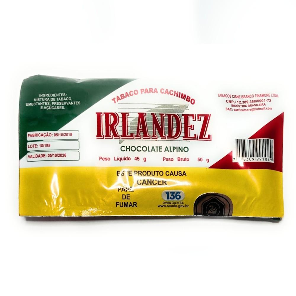 Tabaco para Cachimbo Irlandez 50G - Chocolate