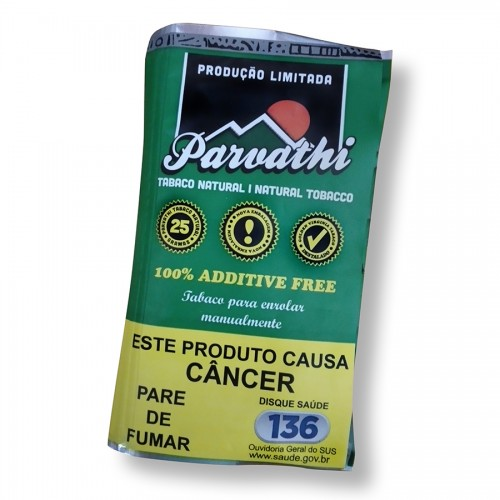 Tabaco Parvathi Natural Destalado 25g