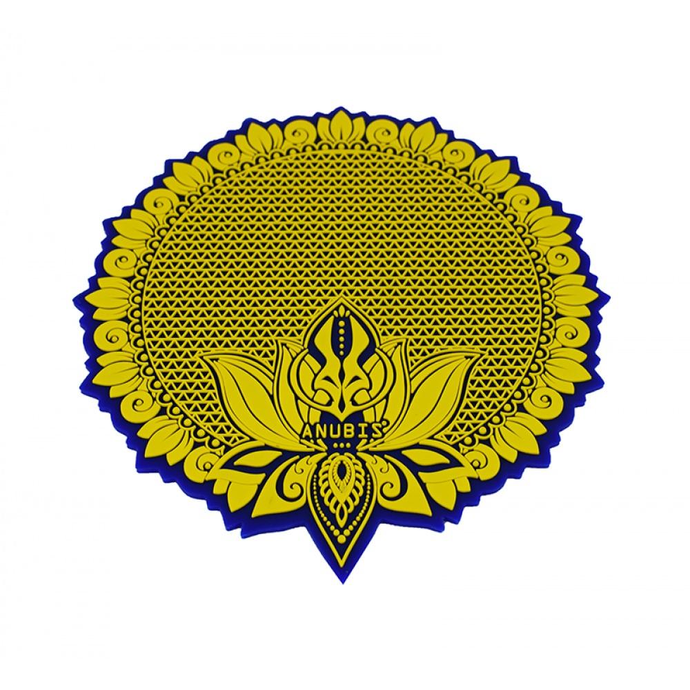 Tapete Anubis  - Azul com Amarelo