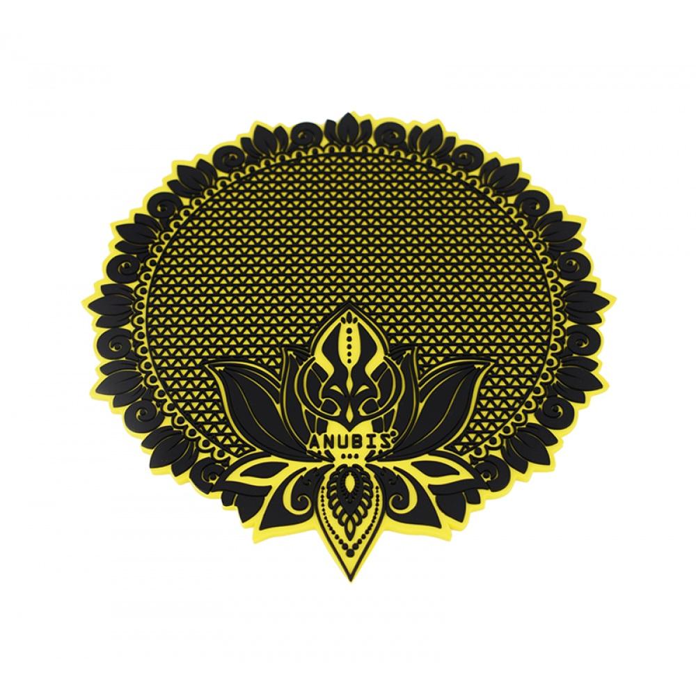 Tapete Anubis  - Preto com Amarelo