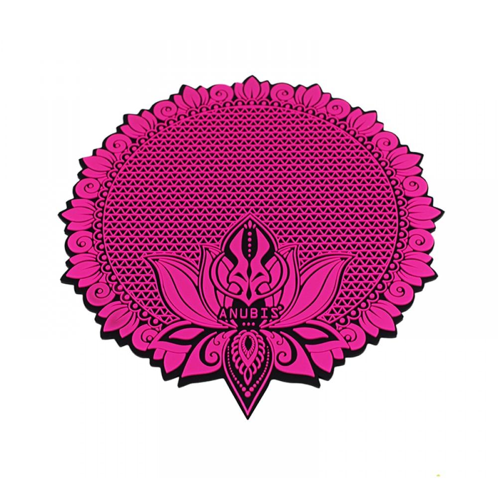 Tapete Anubis  - Preto com Rosa