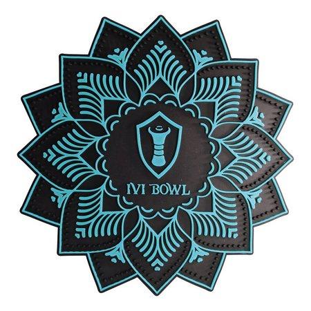 Tapete Ivi Bowl  - Azul Claro