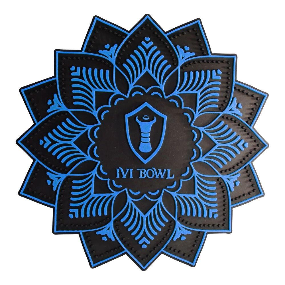 Tapete Ivi Bowl  - Azul Escuro