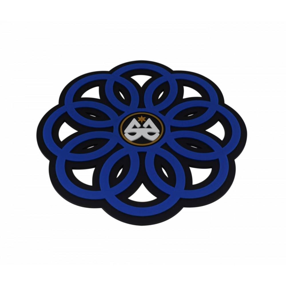Tapete Stick Ring - Preto com Azul