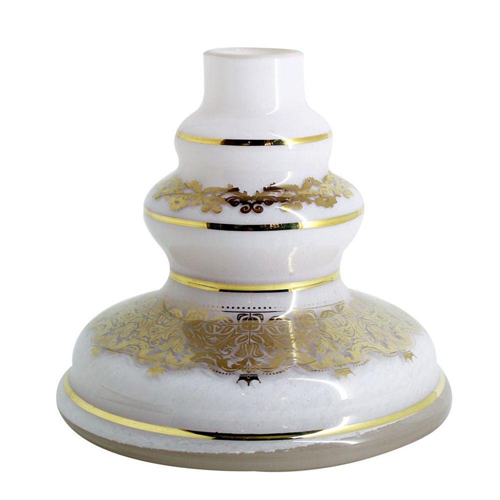 Vaso Pequeno Shisha Glass - Jasmine - Branco