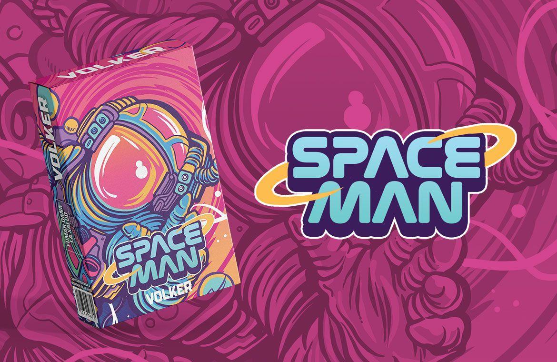 Volker - Space Man (melão e melancia) 50g