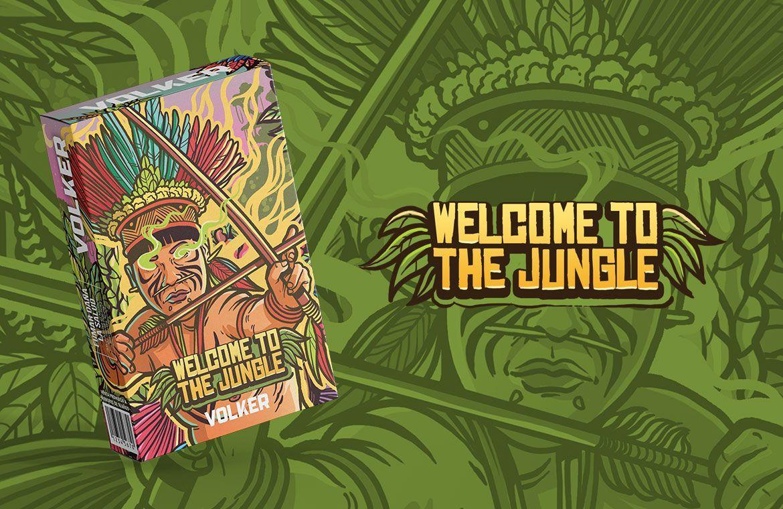 Volker - Welcome To the Jungle (limão) 50g