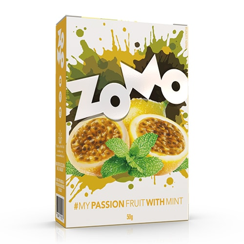 Zomo - Passion Fruit With Mint 50g