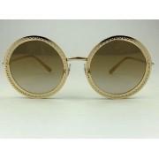 Dolce & Gabbana - DG2211 - Dourado - 026E - 53/17 - Óculos de Sol