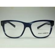 Dolce & Gabbana - DG 3305 - Azul Escuro - 3065 - 54/17 - Armação para Grau