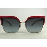 Dolce & Gabbana - DG 6126 - Vermelho - 550/8G - 60/15 - Óculos de Sol