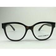 Dolce & Gabbana - DG 5040 - Havana - 502 - 52/18 - Armação para Grau